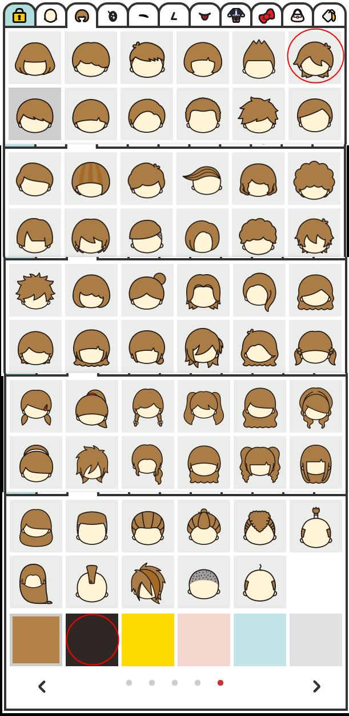 ちゃんりおの髪型の種類