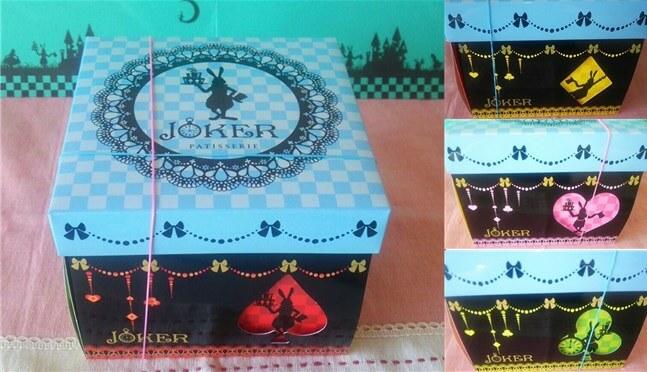 箱がカラフルで可愛い!JOKERのパッケージの4側面