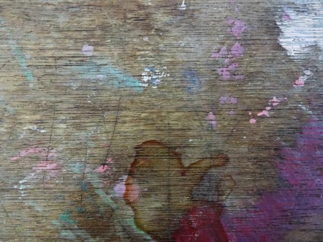 汚れたテーブルや床のイメージ