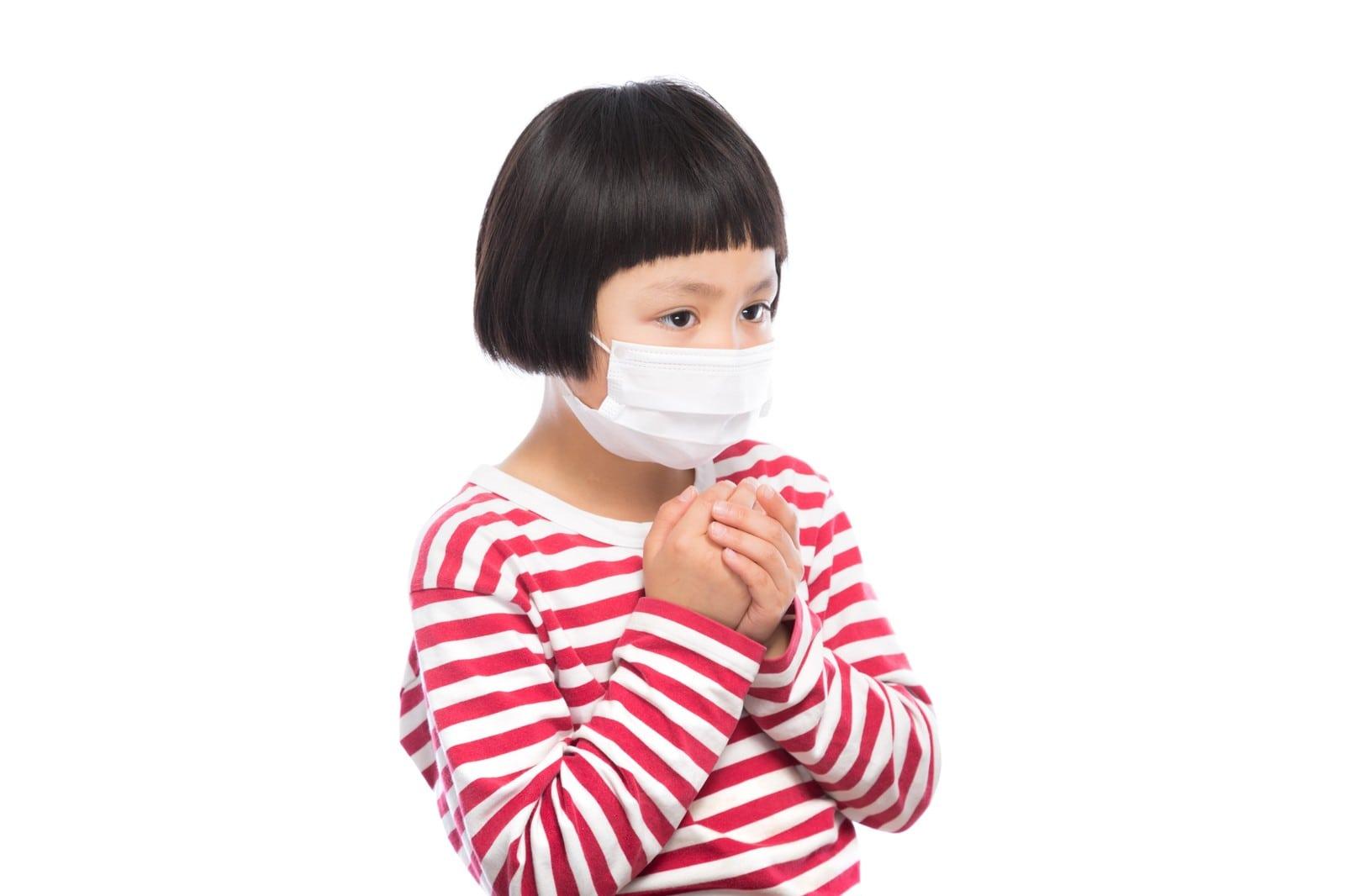 病気の子ども